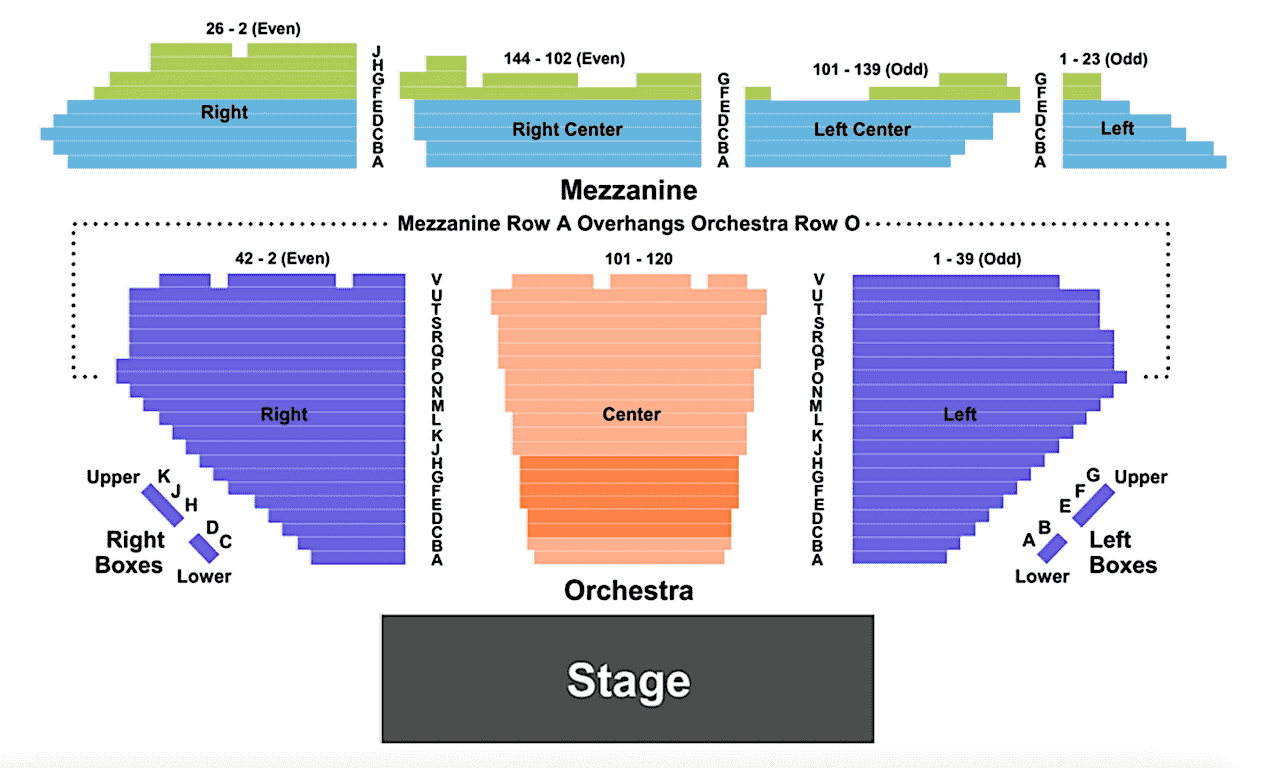 Theater-Seating-Chart