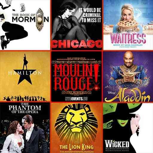 Broadway Musicals-Tickets