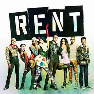 Rent Broadway Musical